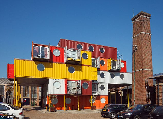 Just like Legos: The Container City project at Trinity Buoy Wharf in London