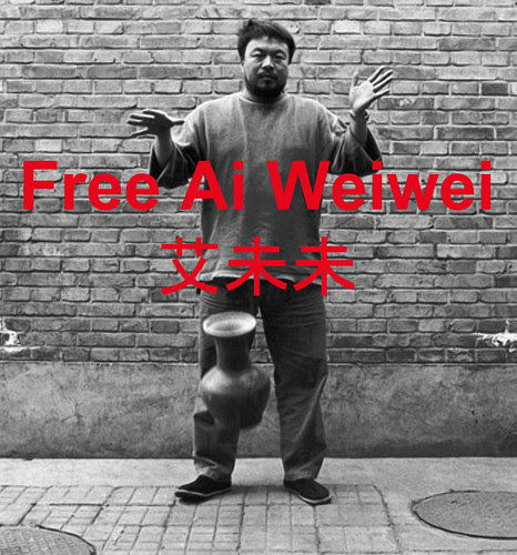 Free Ai Weiwei by Taymaz Valley
