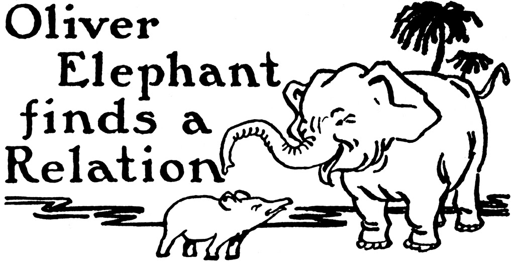 Oliver Elephant Finds a Relation