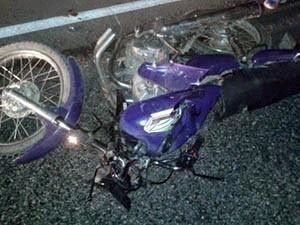 Motciclista não resistiu aos ferimentos (Foto: Renato Medeiros/Contexto Upanemense)