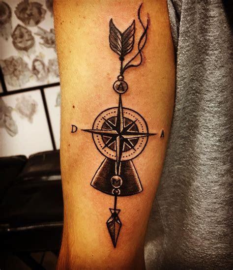 sagittarius tattoo  men small
