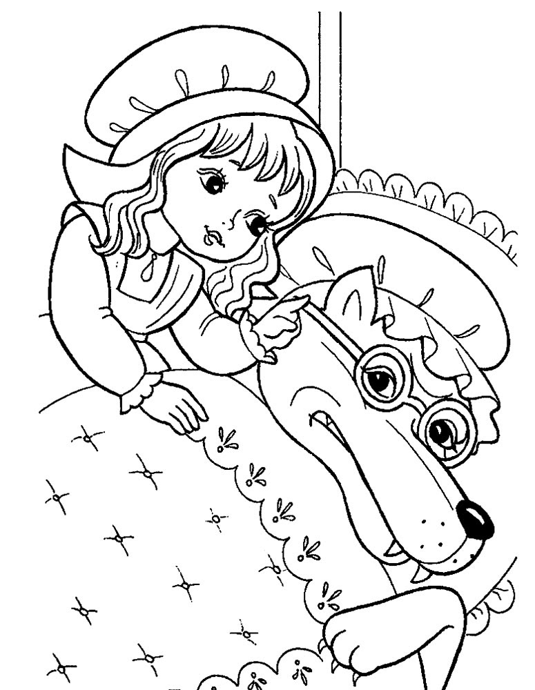 little red riding hood coloring pages5