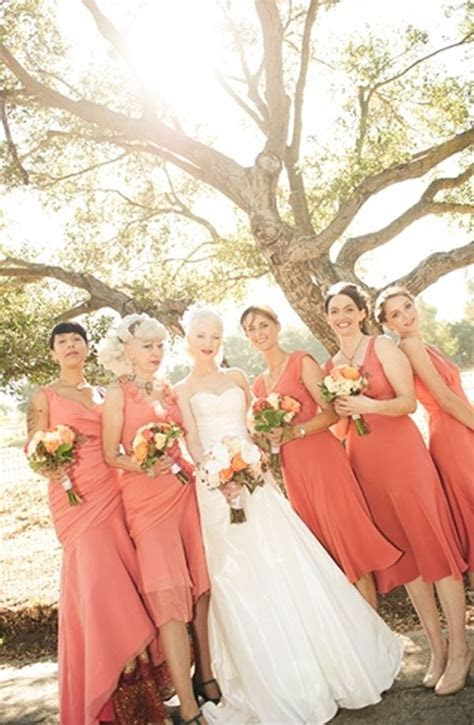Inspired by these Coral Wedding Ideas   Inspired By This
