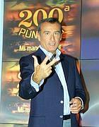 Piero Marrazzo in una foto del 2003 quando conduceva «Mi manda Raitre» (Agi)