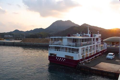 岩城島長江港