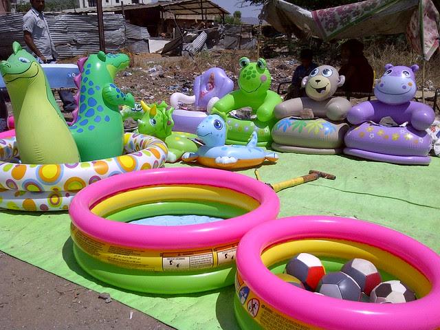 Inflated Toys for Kids - Visit Dreams Avani, 1 BHK & 2 BHK Flats on Shewalwadi Road, near Manjri Stud Farm, off Pune Solapur Highway, at Manjri Budruk Pune, 412 307