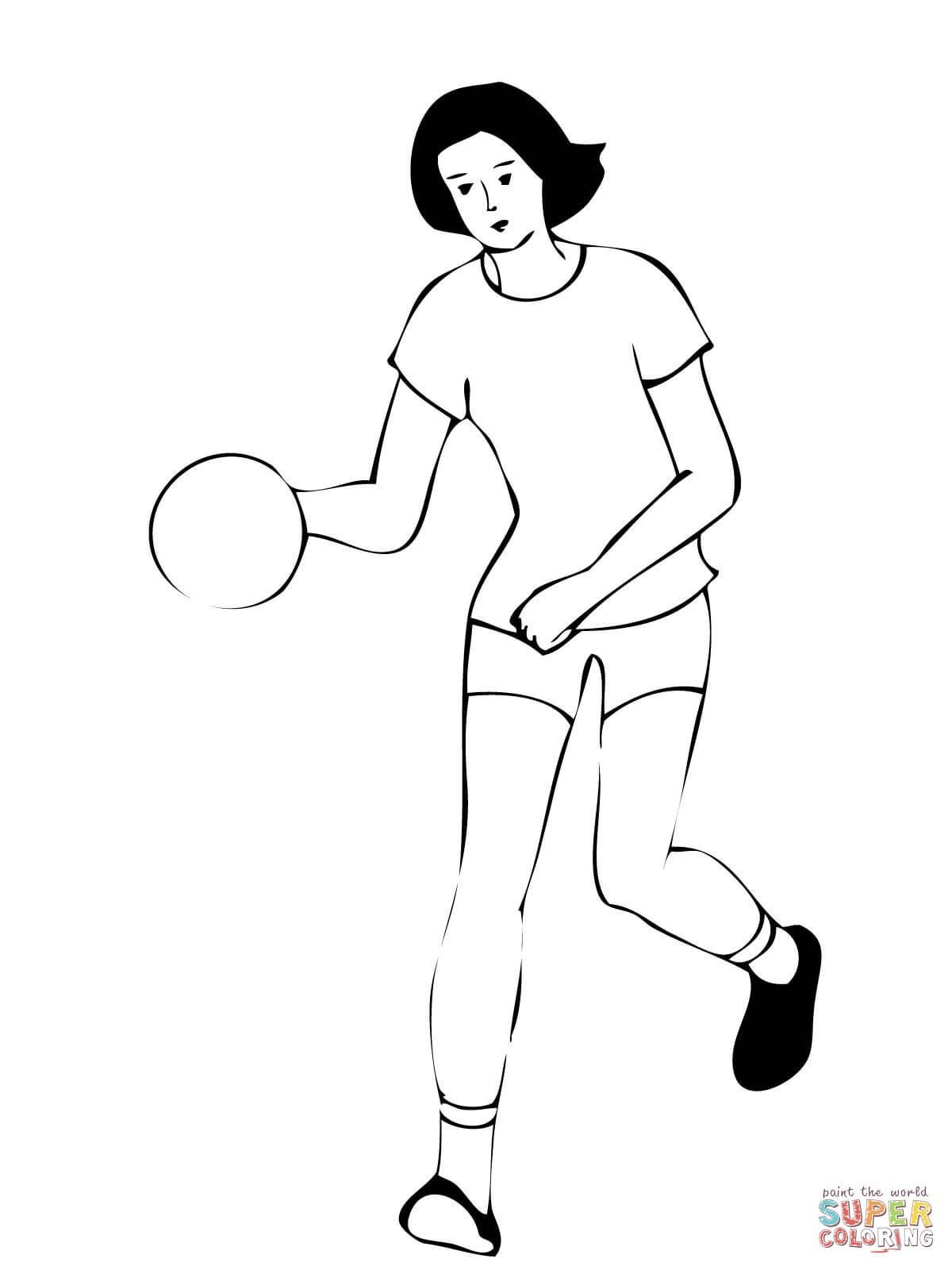 Handballspielerin