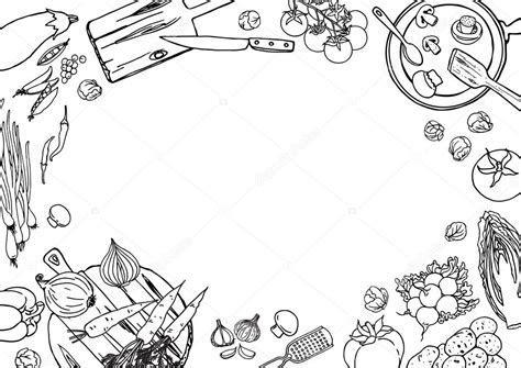 Cooking kitchen food background ? Stock Vector © schiva