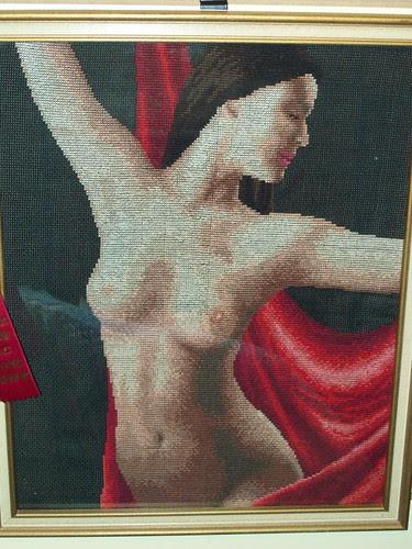 Needlepoint Nude