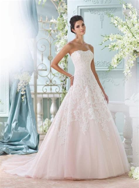 2016 David Tutera For Mon Cheri Wedding Dresses   MODwedding