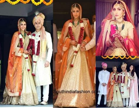 4 Indian Celebrity Wedding Dresses To Die For ? South