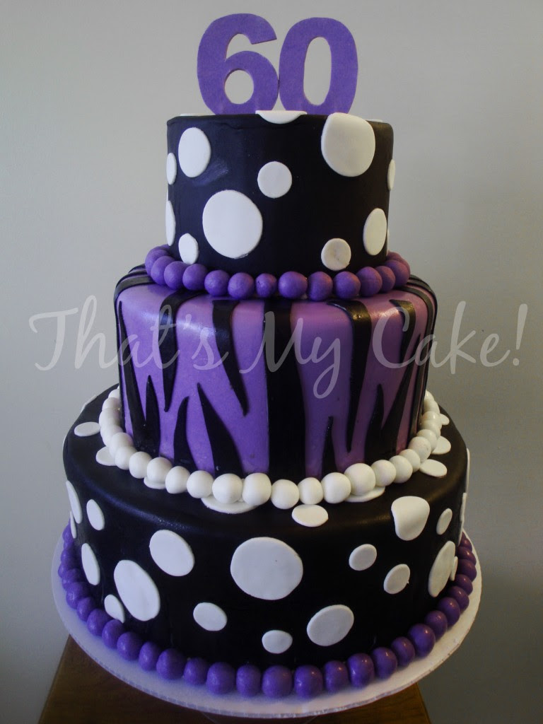 Designs Purple Birthday Purple And Black Birthday Cake That S My