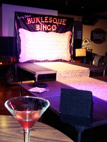 Burlesque Bingo: the Board!