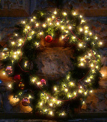 Christmas Wreath,Chatsworth House