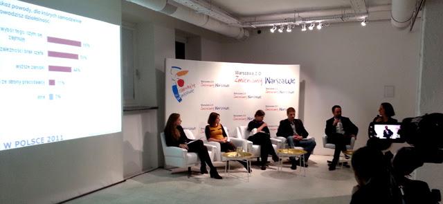 debata o coworkingu Warszawa