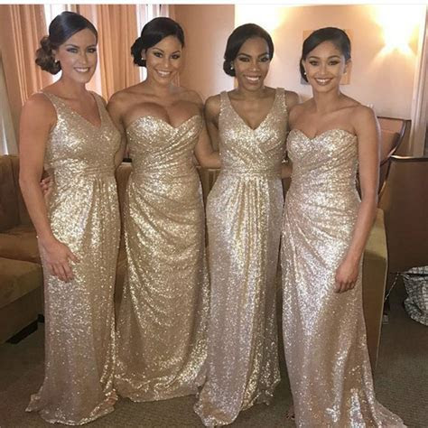 Gold bridesmaid dresses buying tips ? AcetShirt