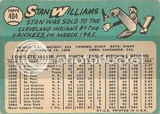 #404 Stan Williams (back)