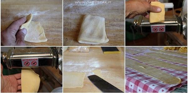 tirare la pasta - rolling pasta