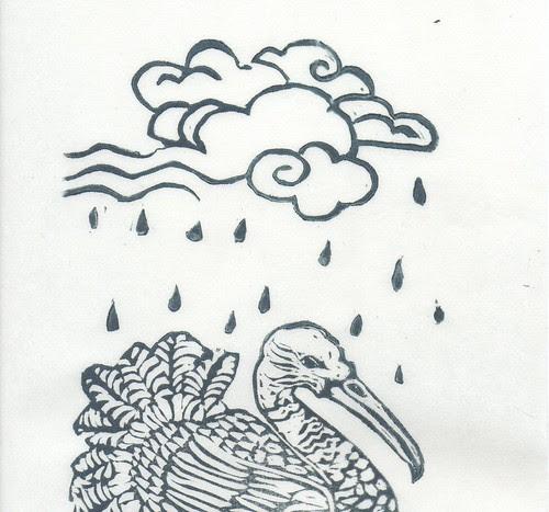Shang Yang the Bird that Makes the Raindetail