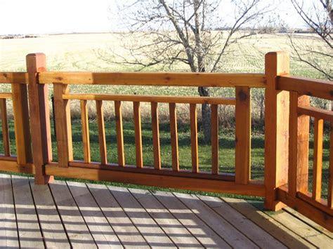 simple deck railing designs deck railing designs cabin
