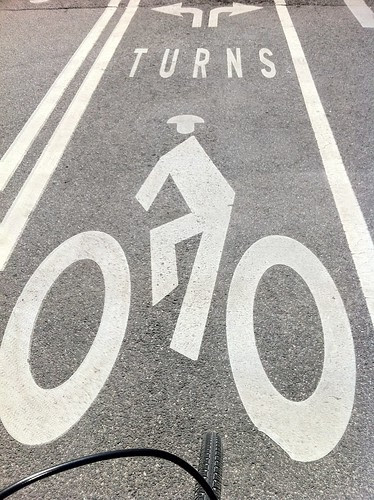 Plenty of well marked bike lanes in DC