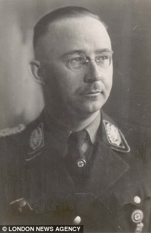 Hitler's henchman Himmler was overlord of the S.S., chief of the Gestapo and planner of the Holocaust which killed six million Jews