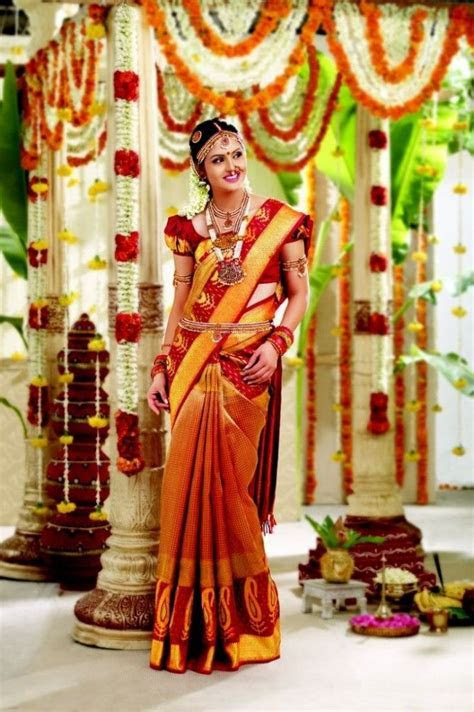Latest Designer Sarees For Tamil Wedding 2016   Bollywood
