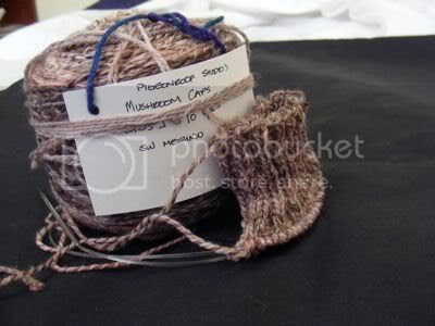 mushroom caps yarn