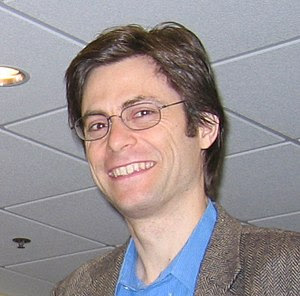 English: Max Tegmark Cropped from a photograph...