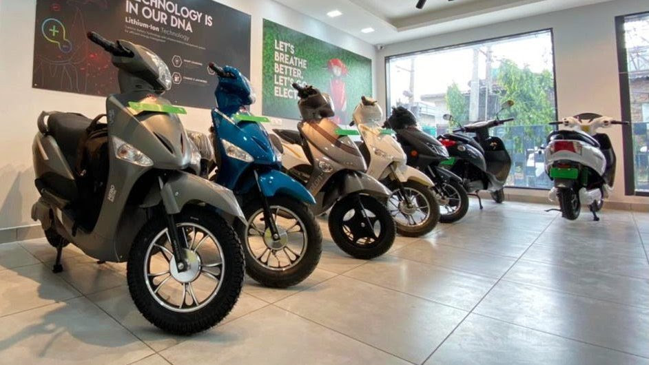Hero Electric has witnessed demand shift from low- to mid-speed scooters in a big way. Image: Hero Electric