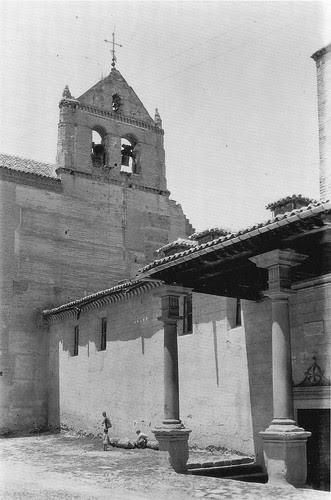 Convento de Santo Domingo el Real a principios del Siglo XX. Fotografía de Loty