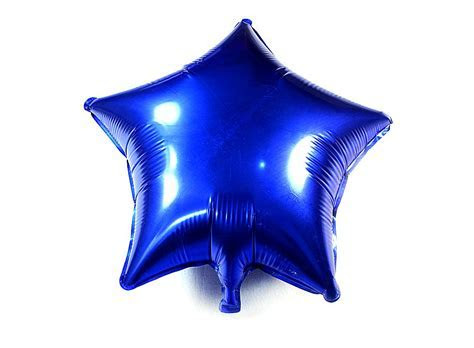 Mylar Star Shaped Balloon Blue J01319, Buy at lowest prices.