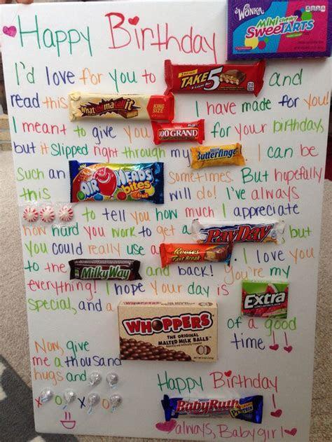 Candy gram card! My boyfriend loved it! #candycard #
