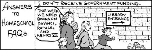 Home Spun comic strip #537