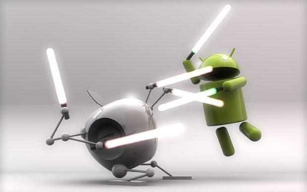 Android ha un traffico web minore rispetto a quello di iOS