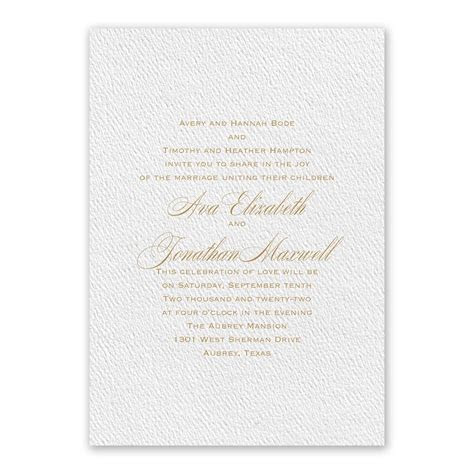 Absolutely Classic White Invitation   Invitations By Dawn