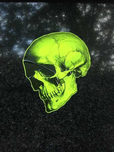 Neon Skull See This Photo On Google Maps Ms L Flickr