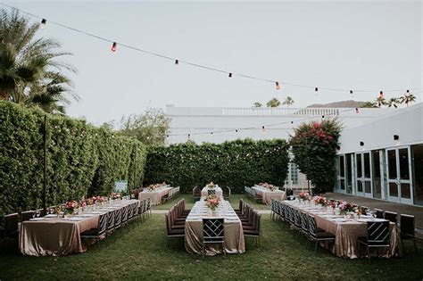 Palm Springs Wedding Location: The Parker Palm Springs