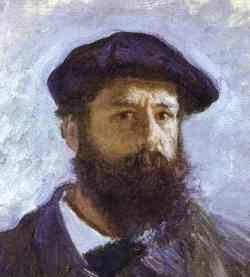 Claude Monet Retrato