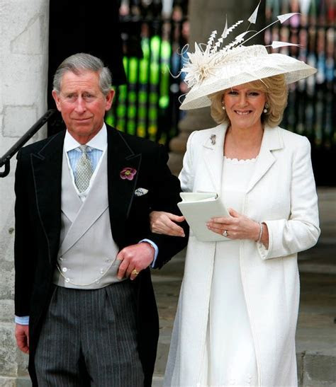 Camilla Parker Bowles wore her wedding dress for a second