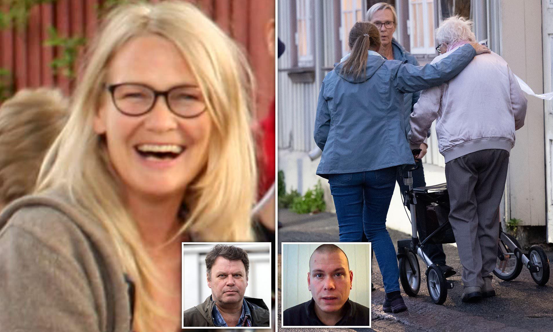 Female artist named as one of five killed in Norwegian rampage