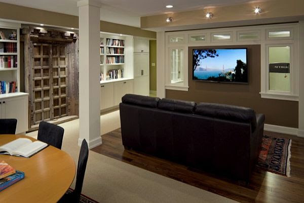 Make The Living Room Or Play Area In The Basement Cool Ideas