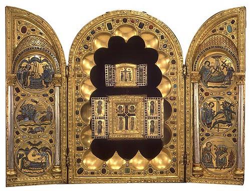 Stavelot Triptych, Flemish