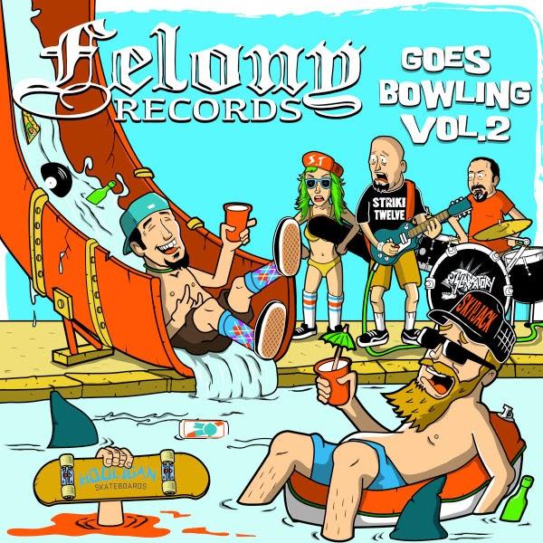 """Felony Records stream new compilation """"Felony Records Goes Bowling Vol. 2"""""""