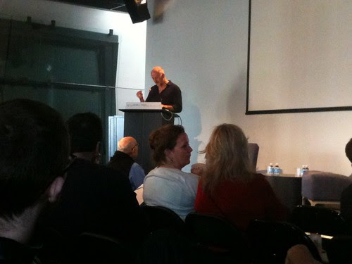"Philosopher Simon Critchley at ""Thinking through Collapse"" Conference @ NYU"