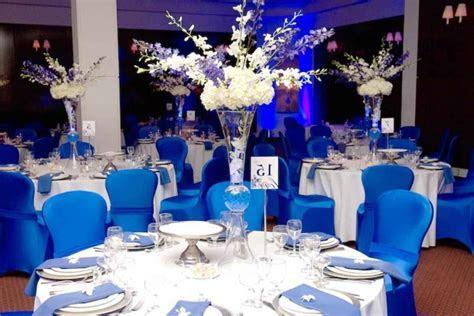Blue wedding decorations   massvn.com