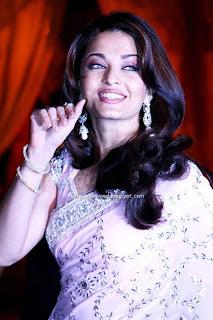 aishwarya rai saree in pink saree3