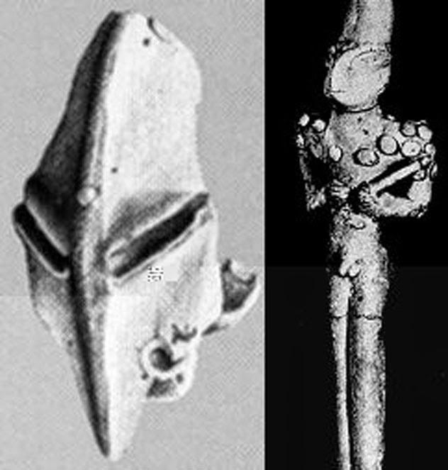 Pandangan umum yang diterima dalam mainstream arkeologi ialah bahwa  peradaban dimulai di Misteri Patung Manusia Kadal Pra Sumeria