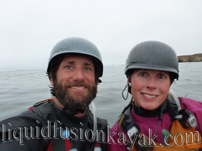 Mendocino's Kayaking Couple