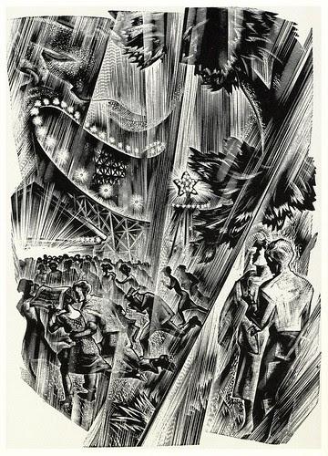 Graphic Novel illustration by Lynd Ward b